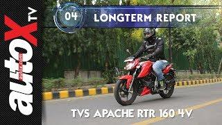 TVS Apache RTR 160 4v Long Term Review : June 2018 | autoX