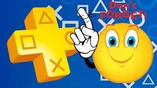 PS PLUS Reminder - ARE PS PLUS NOVEMBER 2018 Games FREE Forever?