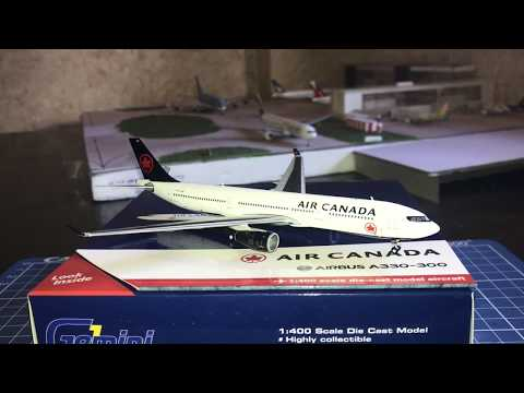 Gemini Jets Air Canada A330 1:400 unboxing