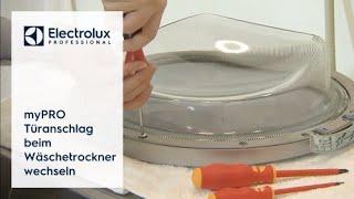 myPRO:Türanschlag beim Wäschetrockner wechseln