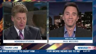 The Hard Line   Paul Mercurio, the comedian, gives a different take on last night