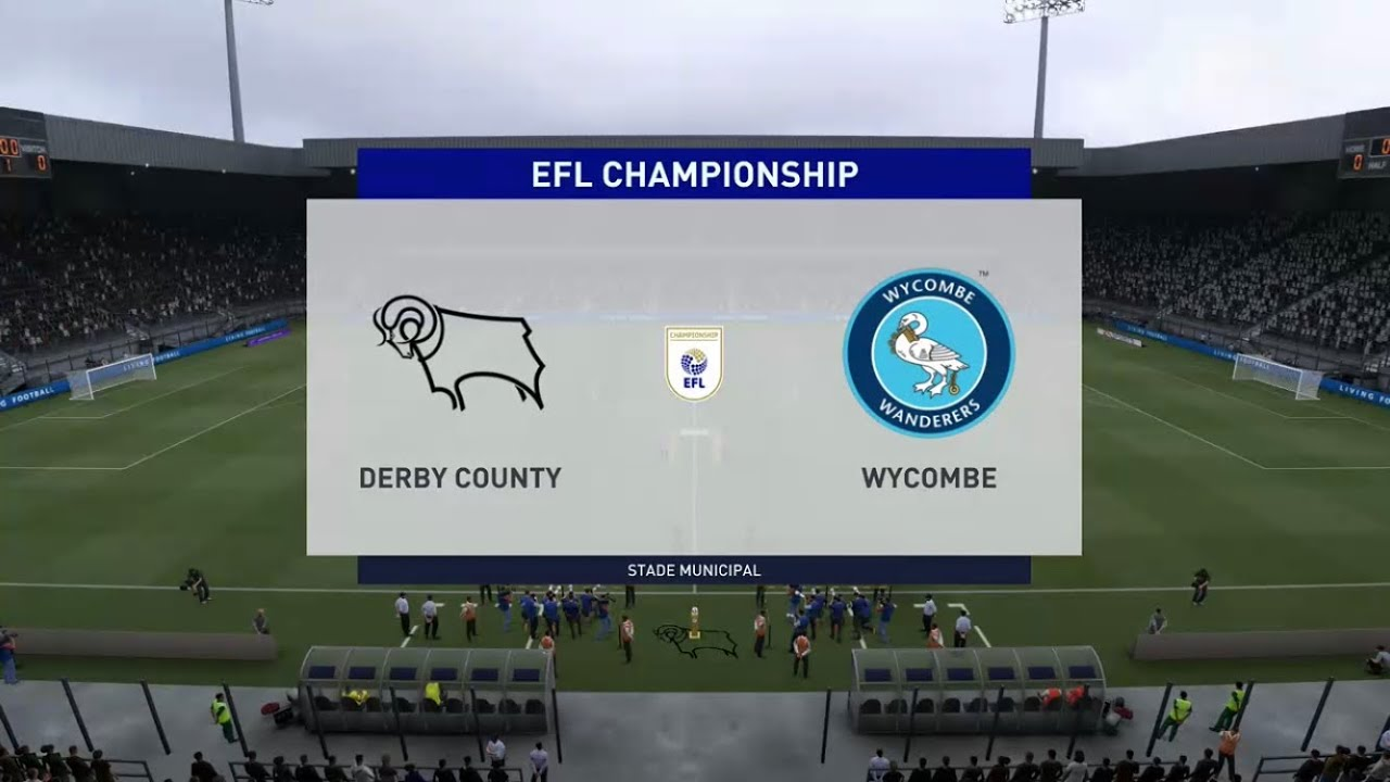Fifa 21 Derby County Vs Wycombe Efl Championship Prediction Youtube
