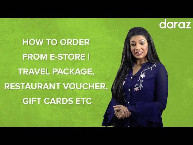 How to Order From Daraz e-Store | দারাজ ই-স্টোর থেকে পণ্য অর্ডার করার পদ্ধতি !