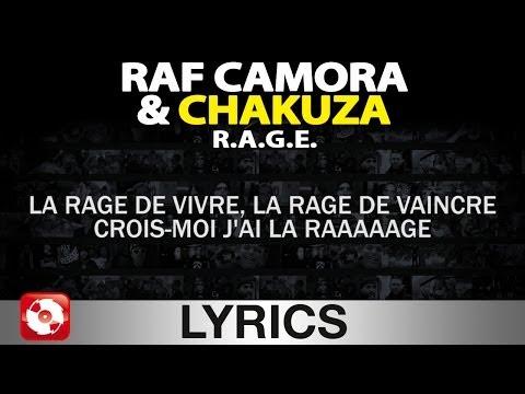 RAF CAMORA & CHAKUZA - R.A.G.E. AGGROTV LYRICS KARAOKE (OFFICIAL VERSION)