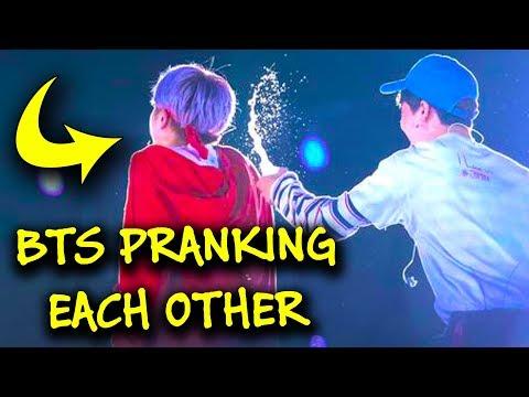 Bts Prank & Tease Each Other