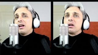 How to sing I've Just Seen a Face Beatles Cover Vocal Harmony Breakdown