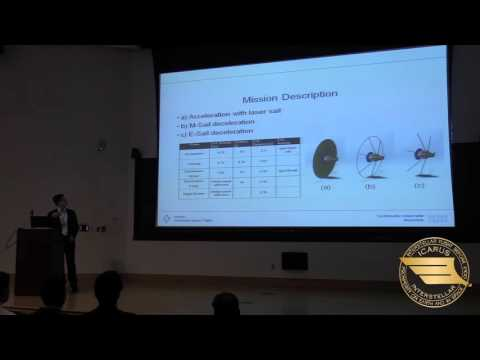 """Starship Congress 2015: Lukas Schrenk, """"Project Dragonfly: Small Laser-Propelled Mission"""""""