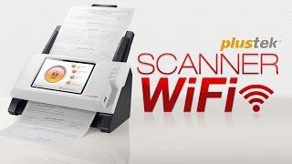 Scanner WiFi amp Network eScan A150 Plustek