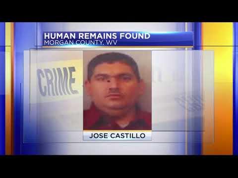 Human remains found in Berkeley Springs, West Virginia