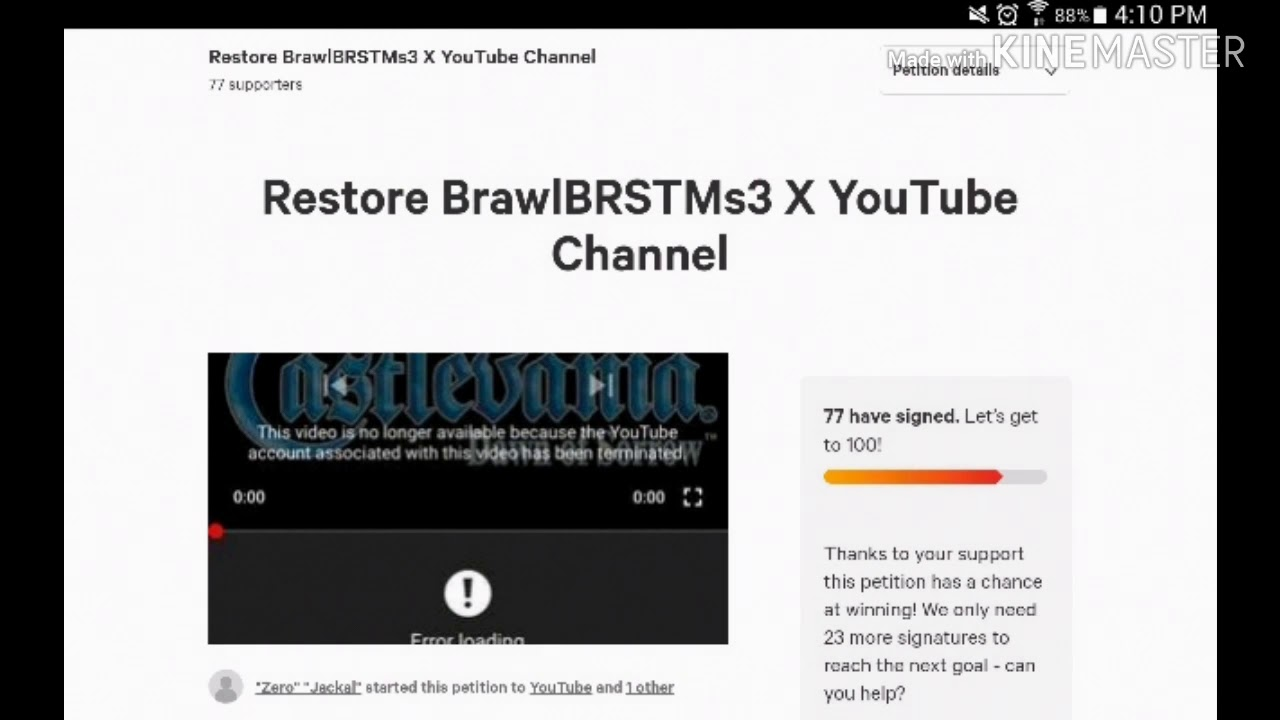 Petition #1: Restore BrawlBRSTMs3 X! 😡