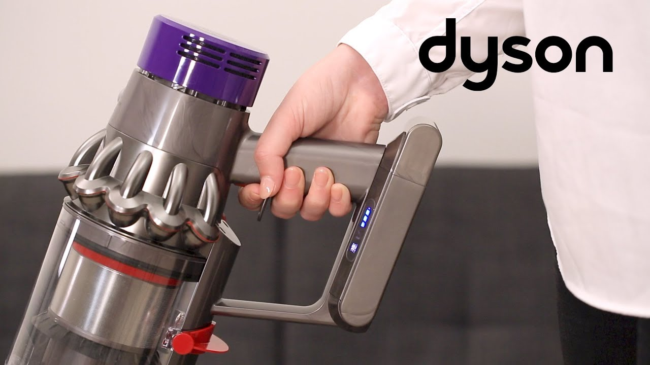 Dyson Cyclone V10 cord-free vacuums - How to resolve a flashing filter  light (IN)