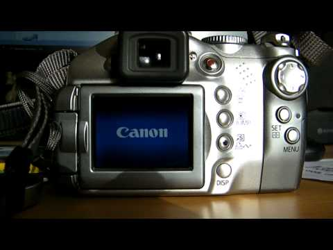 Cano Powershot S2 IS error E18