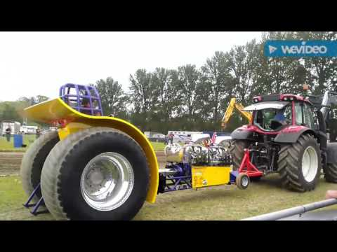 West Midlands county show Heavier category Tractor pulling