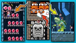 2 HACKED & MODDED Mario Maker Levels + GLITCHES!  👾