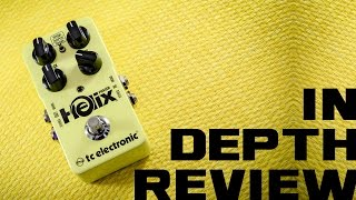 TC Electronic Helix - Phaser Review