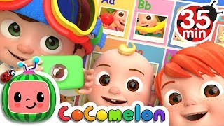 ABC Phonics Song | +More Nursery Rhymes & Kids Son