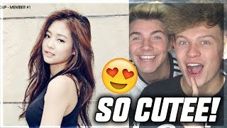 BLACKPINK JENNIE TRY NOT TO FANGIRL/FANBOY CHALLENGE REACTION