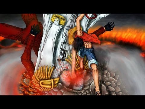 Enel charges up 60 million volt jamboule and fires it at luffy, which catches him this time. One Piece Wallpaper: One Piece Luffy Vs Akainu Episode
