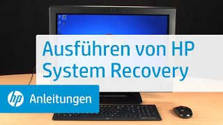 Ausführen von HP System Recovery