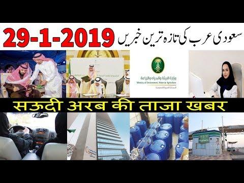 Saudi Arabia Latest News   29-1-2019   Latest Saudi News Today In Urdu Hindi   AUN