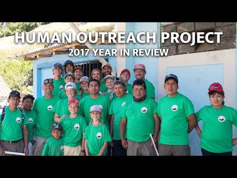 Human Outreach Project - 2017 Programs Year in Review
