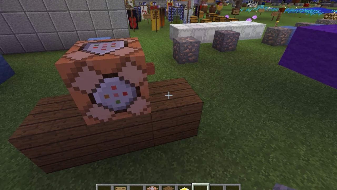 how to make a working fidget spinner in minecraft