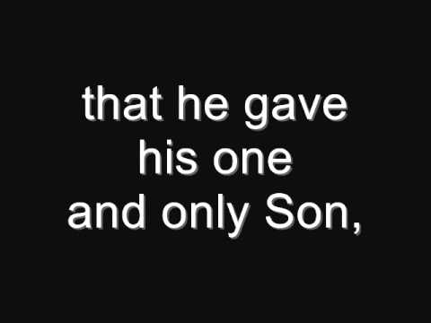 John 3:16 (a famous Bible verse)