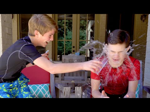 Water War!  (MattyBRaps vs Zack)