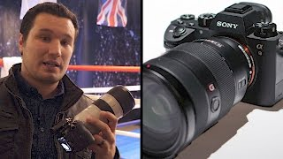 Sony A9 Hands on First Look - Amazing EVF - 20FPS RAW! NEW BATTERY!