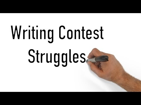 Writing Contest Struggles - Minute Book Report