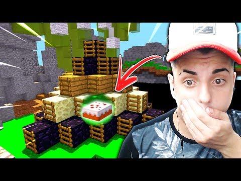 Minecraft: CAKE WARS - A MELHOR PROTEÇÃO NO BOLO!