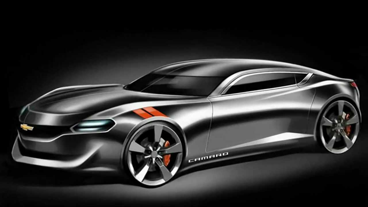 2015 Chevrolet Camaro Coupe Design Study - YouTube