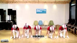 Crayon Pop - Bar Bar Bar Dance Full Mirrored Slow