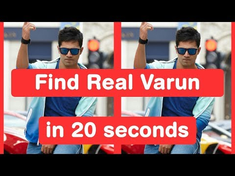 Find Real Varun Dhawan in 20 seconds - Judwaa 2 Challenge