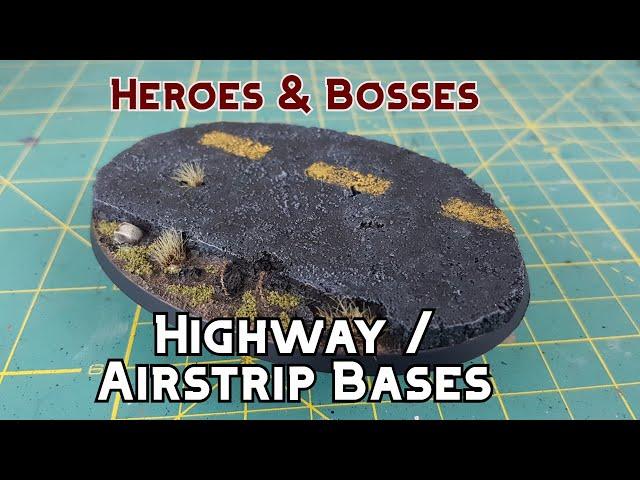 Paint-tech 33 - Abandoned Highway / Runway / Airstrip Base