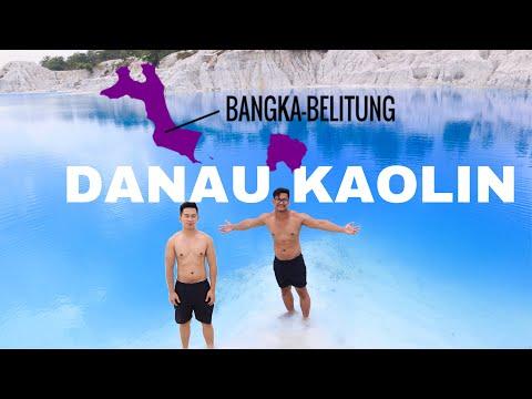 BLUE LAKE DANAU KAOLIN, BANGKA ISLAND