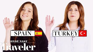 Скачать 70 People Reveal How To Say Hello And Goodbye In Their Country Condé Nast Traveler