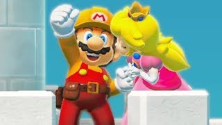 Super Mario Maker 2 - Final Boss + All Endings