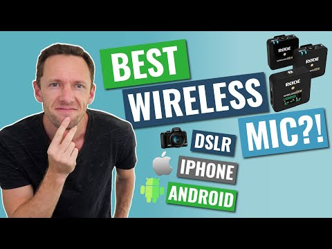 Best Wireless Microphone (iPhone, Android & DSLR) - UPDATED REVIEW!