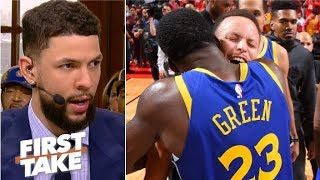 The Rockets expected the Warriors to fold after Kevin Durant went down – Austin Rivers | First Take