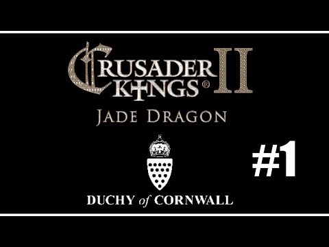 Let's Play Crusader Kings 2: Duchy of Cornwall - #1 Welcome to Cornwall