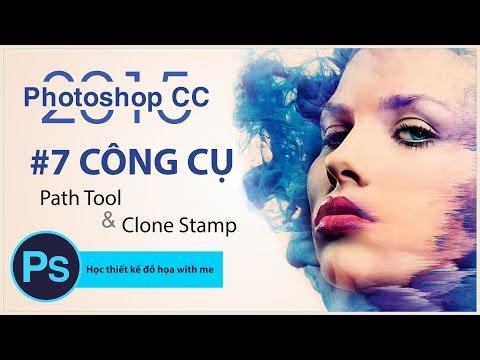 Photoshop Tutorials: Sử dụng công cụ Path Tool và Clone Stamp trong Photoshop - Bài 7