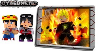 Minecraft Cybernetic -  JOGO DO SUPERMAN SUPER SAIYAN