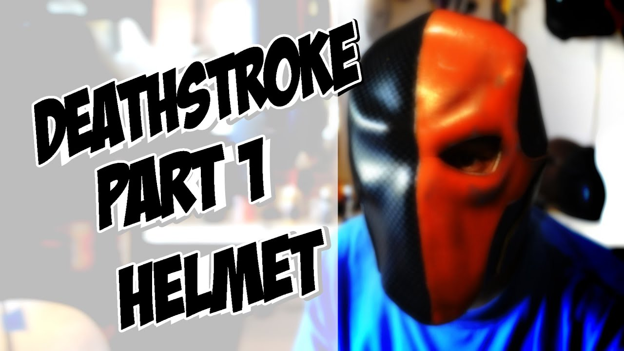 Deathstroke part 1 helmet how to diy com cosplay costume batman deathstroke part 1 helmet how to diy com cosplay costume batman arkham knight youtube solutioingenieria Choice Image