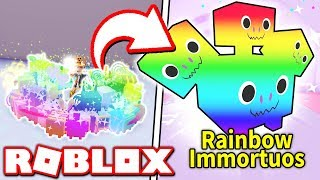 *NEW* RAINBOW PETS in PET SIMULATOR UPDATE 5!! (Roblox)