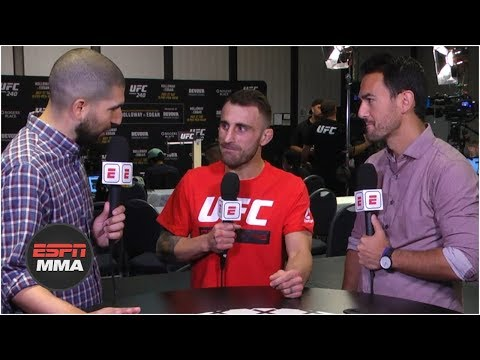 Alexander Volkanovski put himself in position to fight at UFC 240 if needed | ESPN MMA