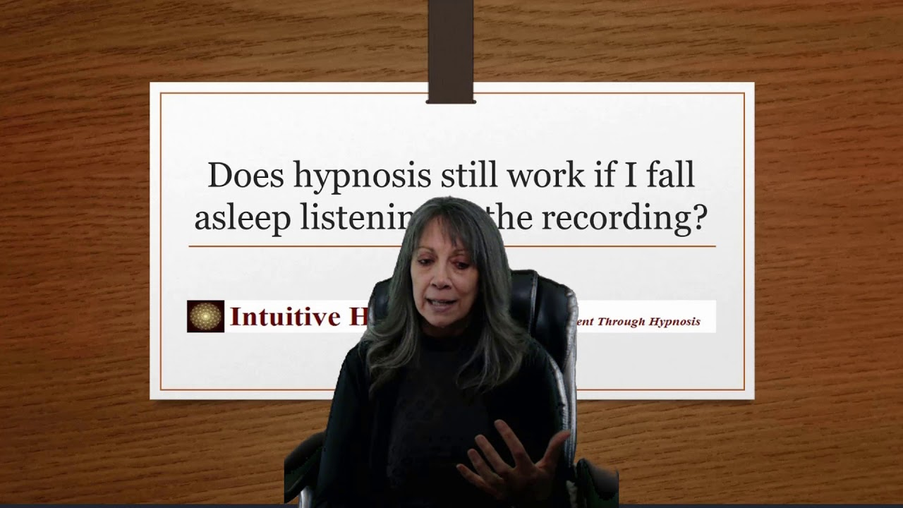 Does Hypnosis Still Work if I Fall Asleep Listening To The Recording?