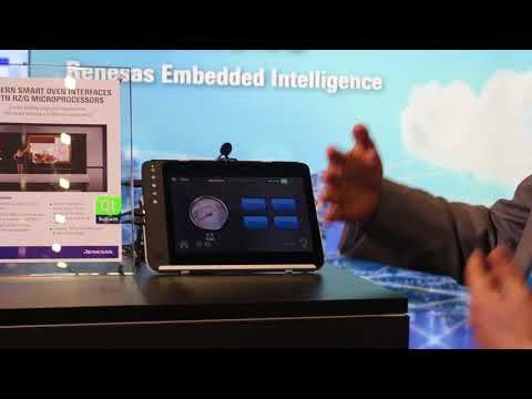 Qt Smart Oven with Renesas RZ/G Linux Platform {showcase}