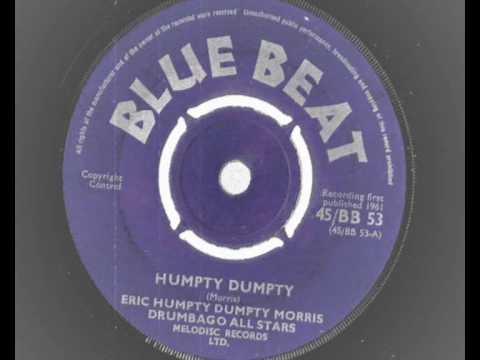 Eric Humpty Dumpty Morris - Humpty Dumpty - blue beat 53 -1961  SHUFFLE SKA