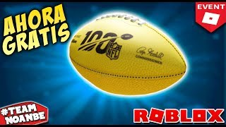 PROMOCODE ROBLOX Balon (Golden Fotball) Gratis Nuevo Evento Roblox NFL
